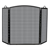 Uniflame Large 3 Panel Olde World Iron Arch Top Screen
