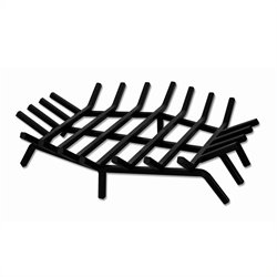 Uniflame 24 Inch Hex Shape Bar Grate for Outdoor Fireplaces