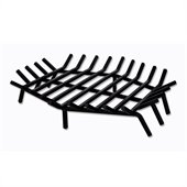 Uniflame 27 Inch Hex Shape Bar Grate for Outdoor Fireplaces