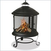 Uniflame 41.6 Inch Bronze Firehouse