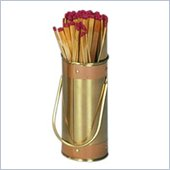 Uniflame Solid Brass Match Holder (Striker & Copper Band)