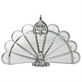 Uniflame Pewter Finish Ornate Fan Screen