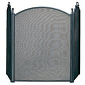 Uniflame 3 Fold Large Diameter Black Screen with Woven Mesh