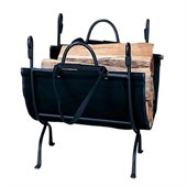 Uniflame Deluxe Wrought Iron Log Holder