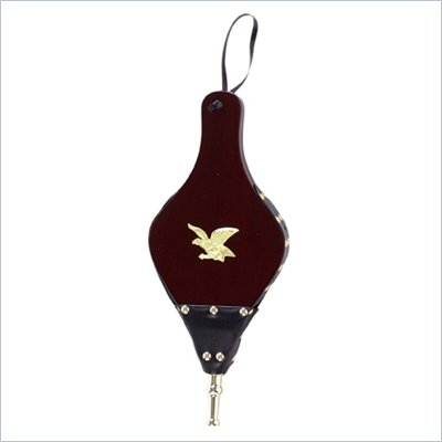Uniflame Dark Stained Hand Carved Bellow with Medallion