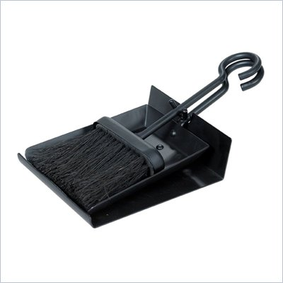 Uniflame Black Shovel And Brush Set With Pan