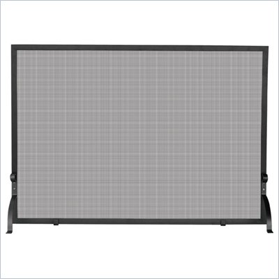 Uniflame Medium Single Panel Olde World Iron Screen