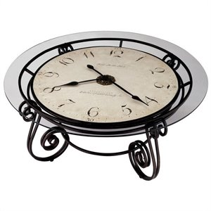 Howard Miller Ravenna Round Coffee Table Clock