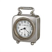 Howard Miller Kegan Quartz Alarm Clock