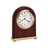 Howard Miller Rosewood Arch Mantel Clock