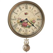 Howard Miller Savannah Botanical Society VII Wall Clock