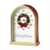 Howard Miller Carols of Christmas II™ Musical Table Top Clock