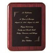 Howard Miller Commemorative I Plaque