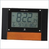 Howard Miller Anaston Accutech Table Alarm Clock in High Gloss Black