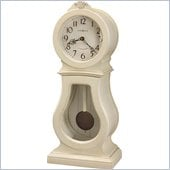 Howard Miller Audrey 84th Anniversary Edition Mantel Clock in Coconut  
