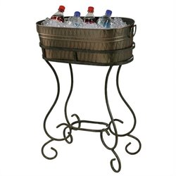 Howard Miller Entertainment Copper-Plated Steel Beverage Tub