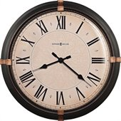 Howard Miller Atwater 24 Wall Clock in a Dark Rubbed Bronze