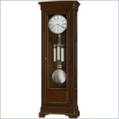 Howard Miller Fulton Grandfather Clock in Cherry Bordeaux Finish