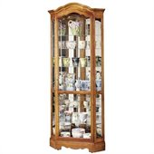 Howard Miller Jamestown II Corner Display Curio Cabinet