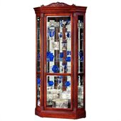 Howard Miller Embassy II Corner Display Curio Cabinet