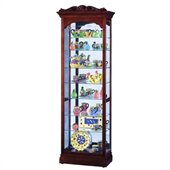 Howard Miller Hastings Traditional Display Curio Cabinet