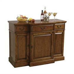 Howard Miller Shiraz Hide A Home Bar in Dark Wood