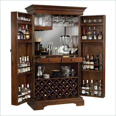 Howard Miller Sonoma Hide A Home Bar in Americana Cherry