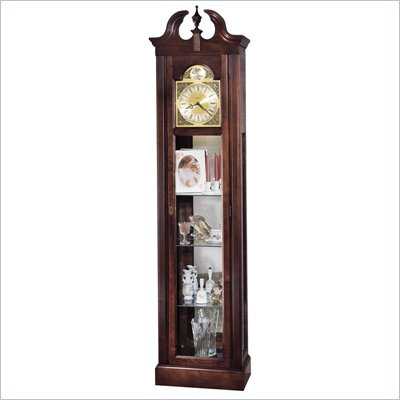 Howard Miller Cherish Curio Grandfather Clock