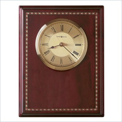 Howard Miller Honor Time II Plaque Wall/Table Clock