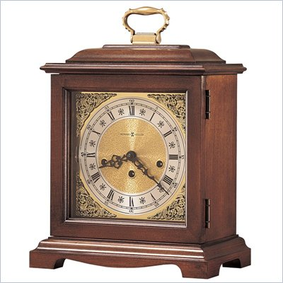 Howard Miller Graham Bracket Key Wound Mantel Clock