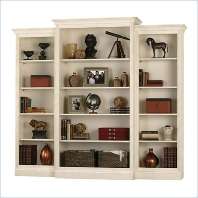 Howard Miller Ty Pennington Oxford Wall Bookcase in Antique Vanilla
