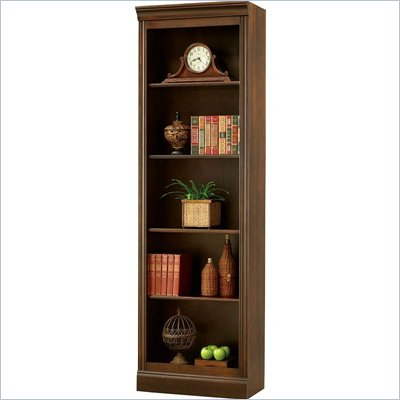 Howard Miller Ty Pennington Oxford Bookcase Bunching in Saratoga Cherry