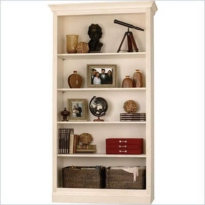 Howard Miller Ty Pennington Oxford Bookcase Center in Antique Vanilla
