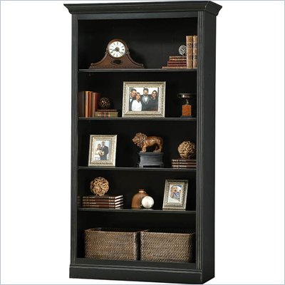 Howard Miller Ty Pennington Oxford Bookcase Center in Antique Black