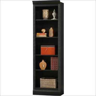Howard Miller Ty Pennington Oxford Bookcase Bunching in Antique Black