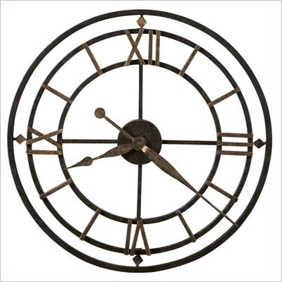 Howard Miller York Station Quartz Wall Clock