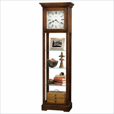Howard Miller Le Rose Curio Display Cabinet Clock