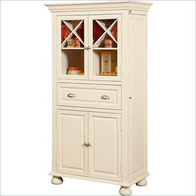Howard Miller Ty Pennington Everything Cabinet in Vanilla Finish