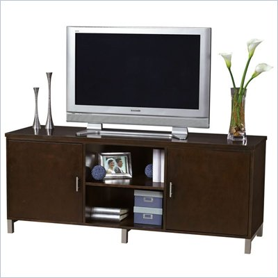 Howard Miller Ty Pennington Lucy TV Console in Espresso Finish