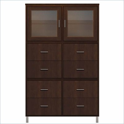 Howard Miller Ty pennington Ava Storage Cabinet in Espresso Finish