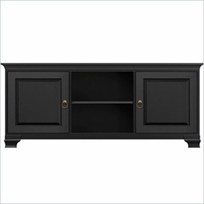 Howard Miller Ty Pennington Lucy TV Console in Antique Black Finish