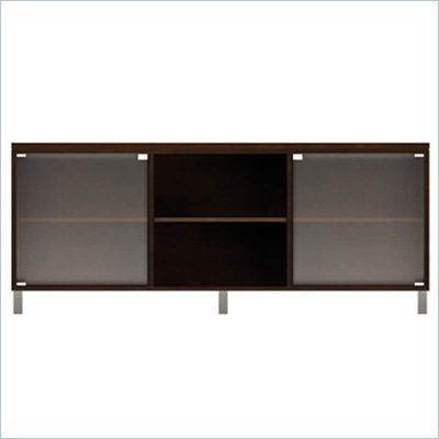 Howard Miller Ty Pennington Lucy TV Console with 3 Doors in Espresso