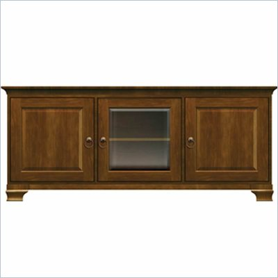 Howard Miller Ty Pennington Lucy TV Console in Saratoga Cherry Finish