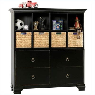 Howard Miller Ty Pennington James Storage Cabinet with Baskets in Espresso