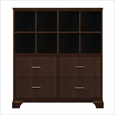 Howard Miller Ty Pennington James Storage Cabinet with Shelf in Espresso