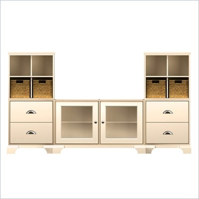Howard Miller Ty Pennington Jeffrey-15C Personal Storage Entertainment Cabinets