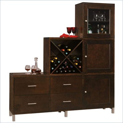 Howard Miller Ty Pennington Amber-16A Personal Storage Cabinet
