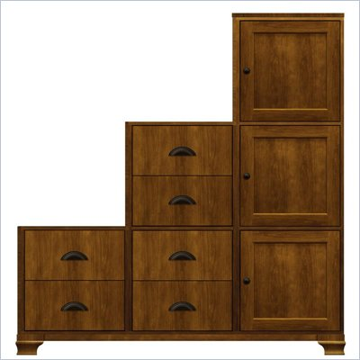 Howard Miller Ty Pennington Amber-16D Personal Storage Cabinet