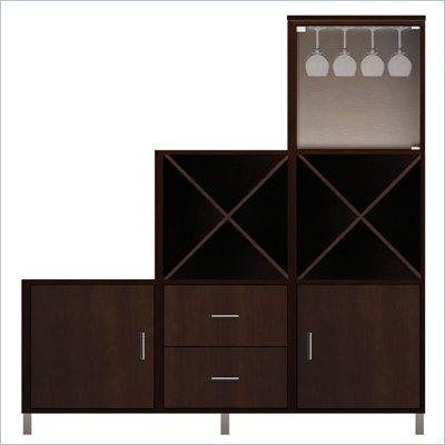 Howard Miller Ty Pennington Amber-16E Personal Storage Cabinet