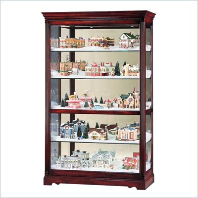 Howard Miller Townsend Village Display Curio Cabinet